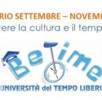 Settembre – Novembre 2017, tutti gli eventi di BeTime: scarica il volantino