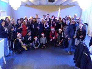 Auguri di Natale, le immagini dell'evento [FOTO]