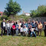 La villa romana di Francolise ed i murales di Valogno, la galleria fotografica