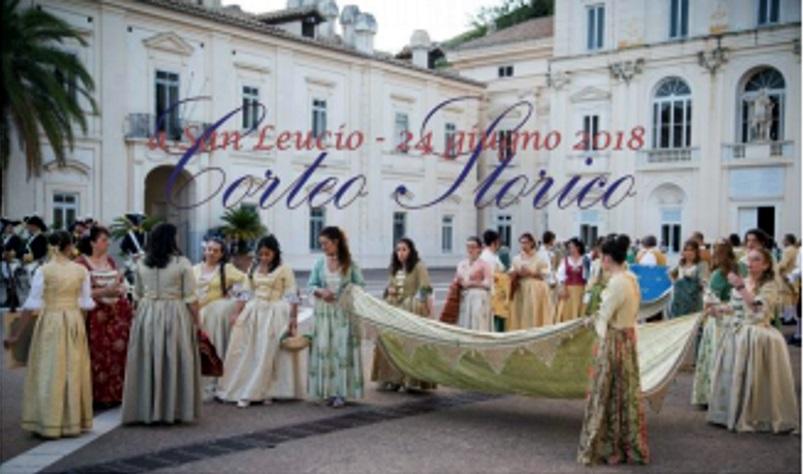 Al corteo storico di San Leucio, con BeTime!