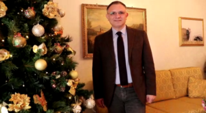 Natale 2018, gli auguri del Presidente Amodio D'Amodio [VIDEO]