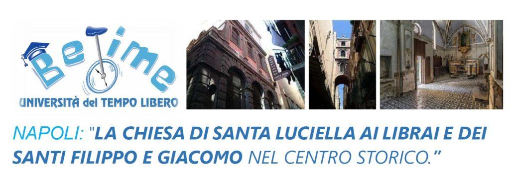 Napoli, la chiesa di Santa Luciella ai Librai e dei Santi Filippo e Giacomo