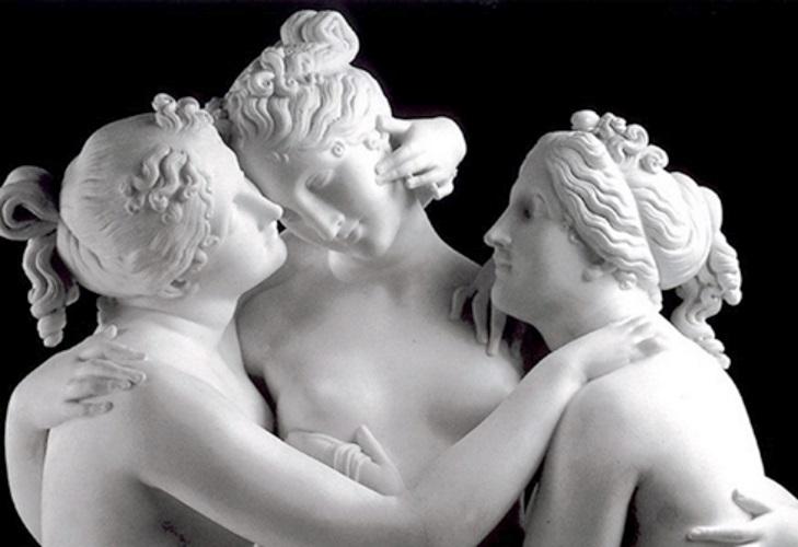 Al MANN per le sculture di Antonio Canova
