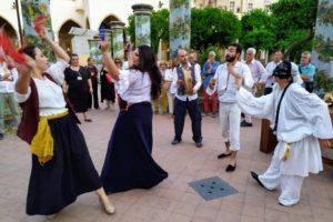 Colonne sonore a Santa Chiara, le immagini [FOTO]