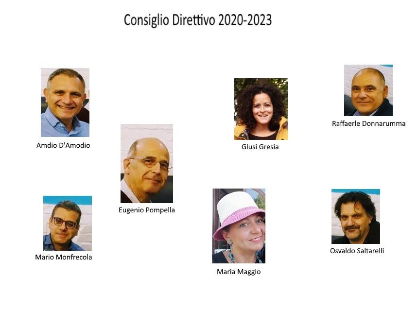 Il nuovo Consiglio Direttivo 2020-2023
