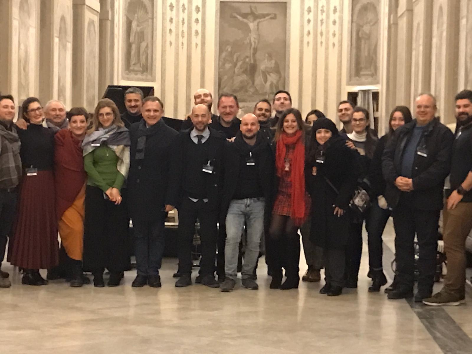 Una notte al Chiostro di Santa Chiara: terza edizione, foto di gruppo