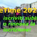 BeTime 2020, iscriviti subito!