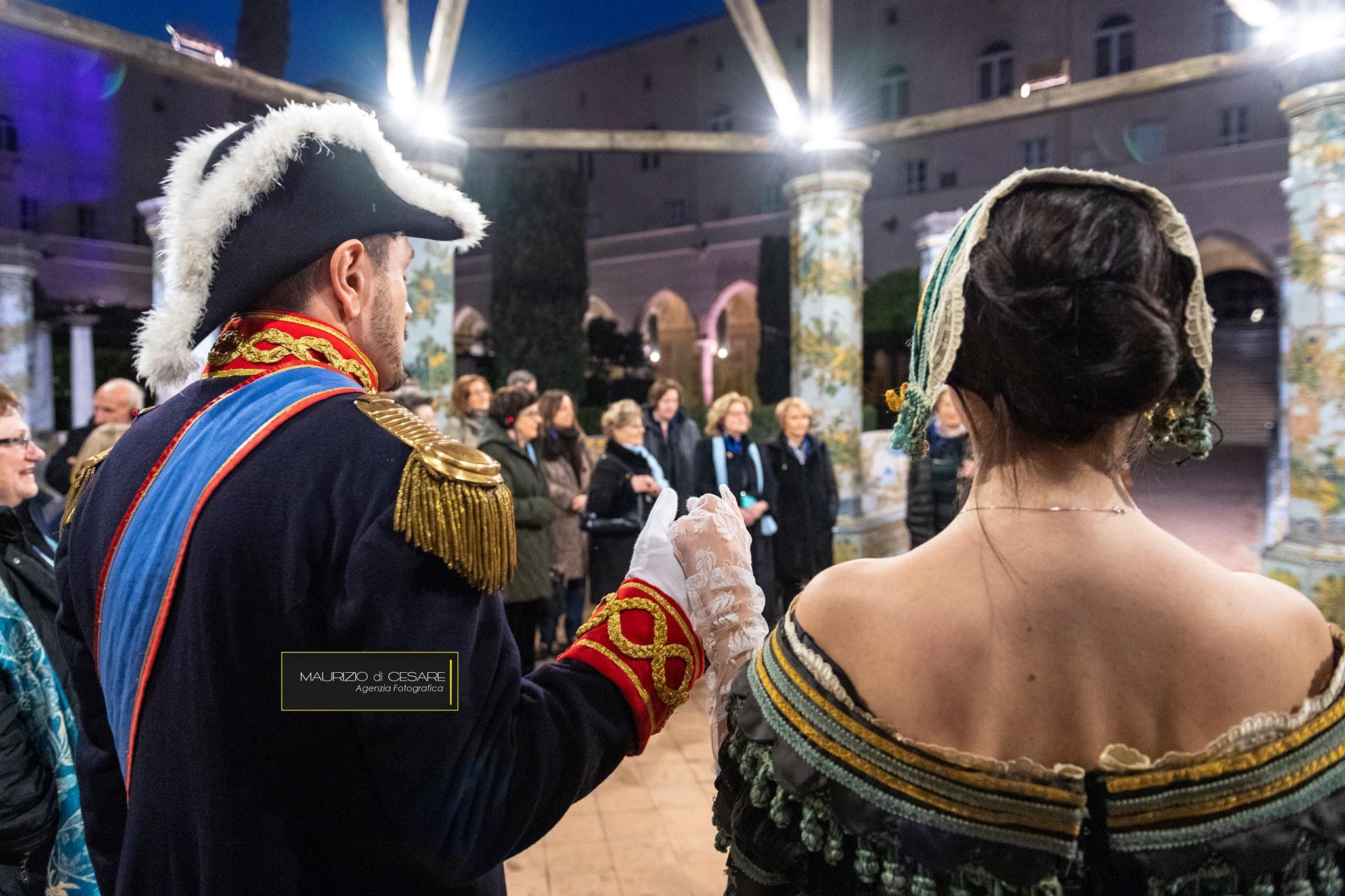 La notte di Santa Chiara dedicata a Maria Cristina