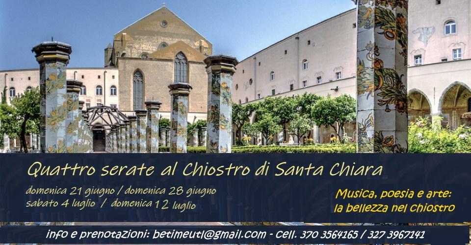 Al chiostro di Santa Chiara, la seconda serata di beneficenza