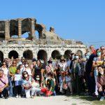 All'anfiteatro campano di Santa Maria Capua Vetere (con sorpresa finale) [FOTO+VIDEO]