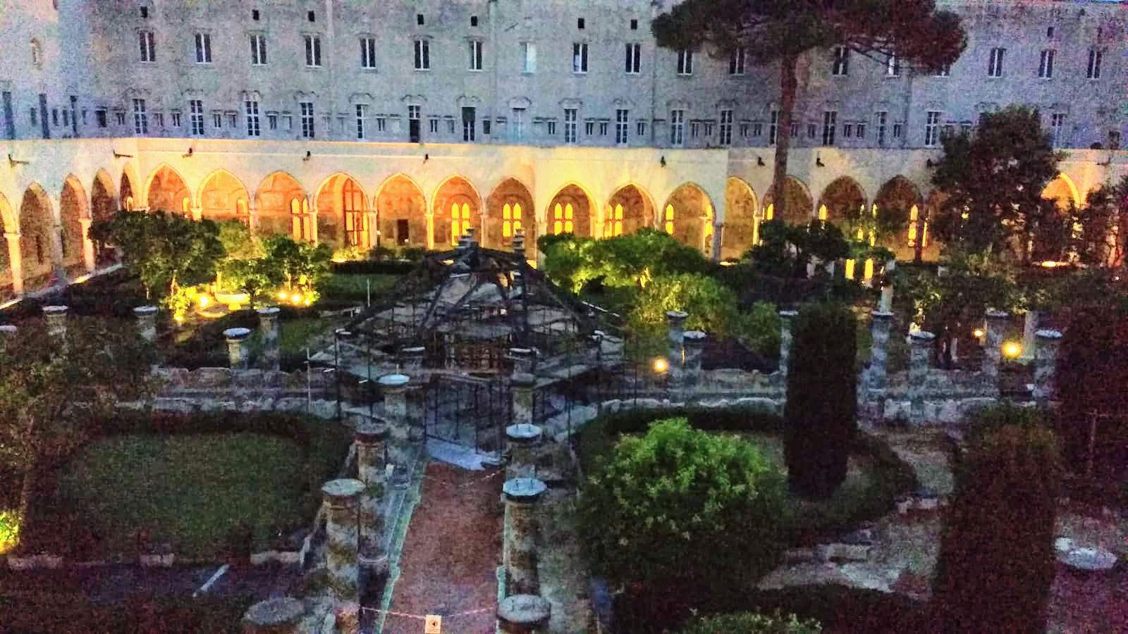 Serata speciale nel solstizio d'estate al monastero di Santa Chiara