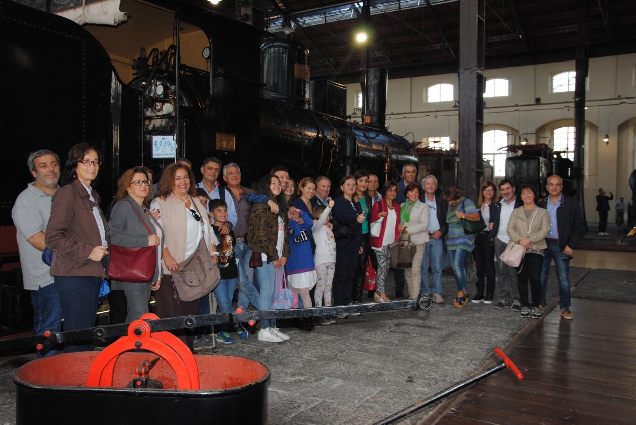 Al museo ferroviario di Pietrarsa con BeTime