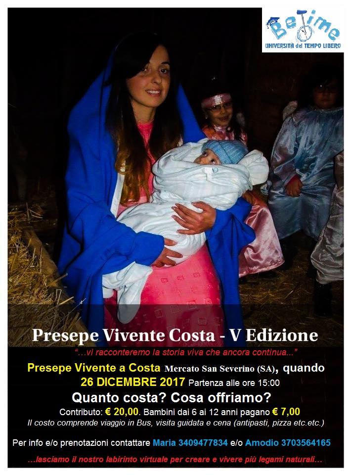 Al Presepe Vivente Costa, V Edizione, con BeTime!