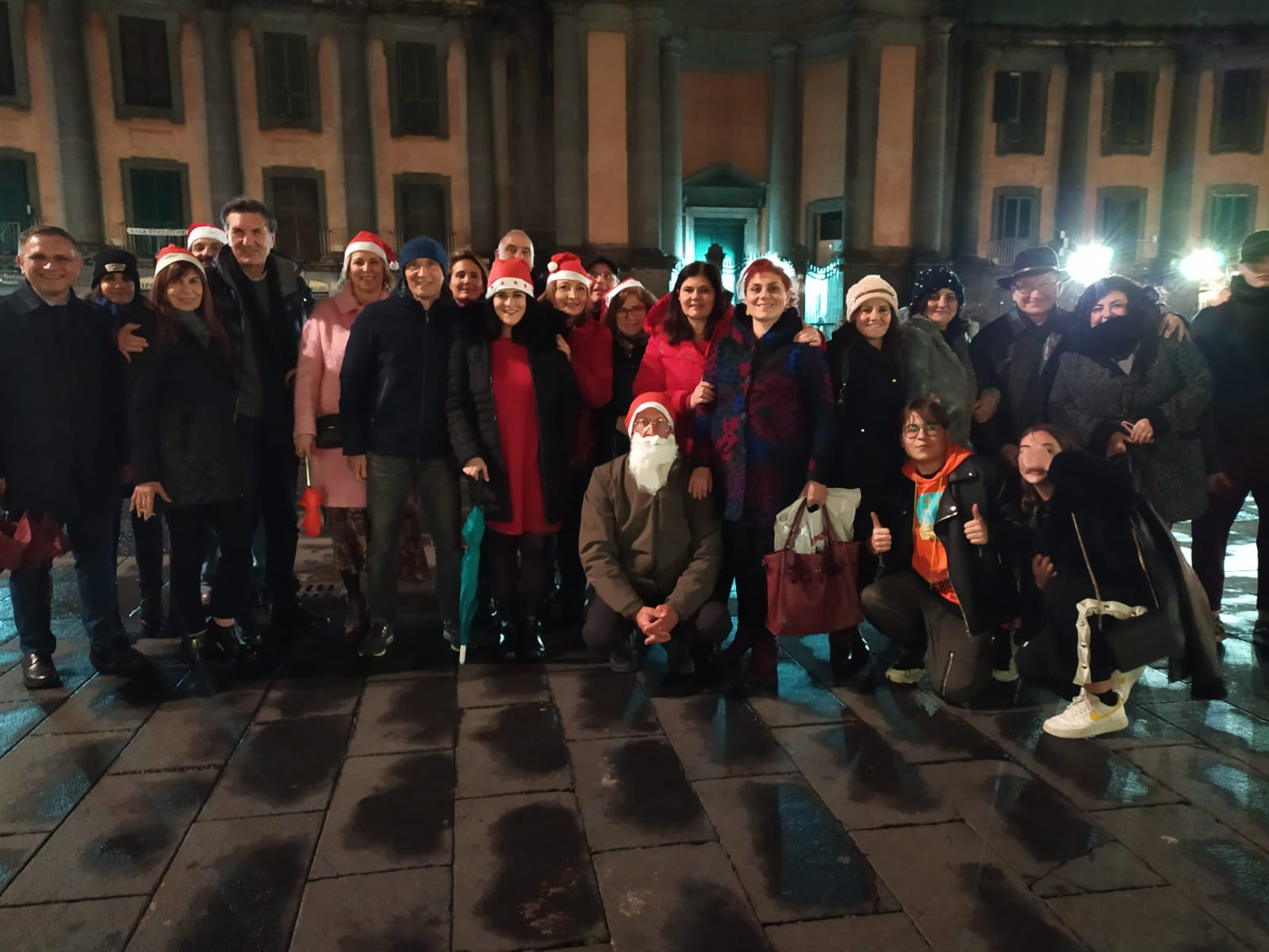 Be Christmas Time, foto di gruppo
