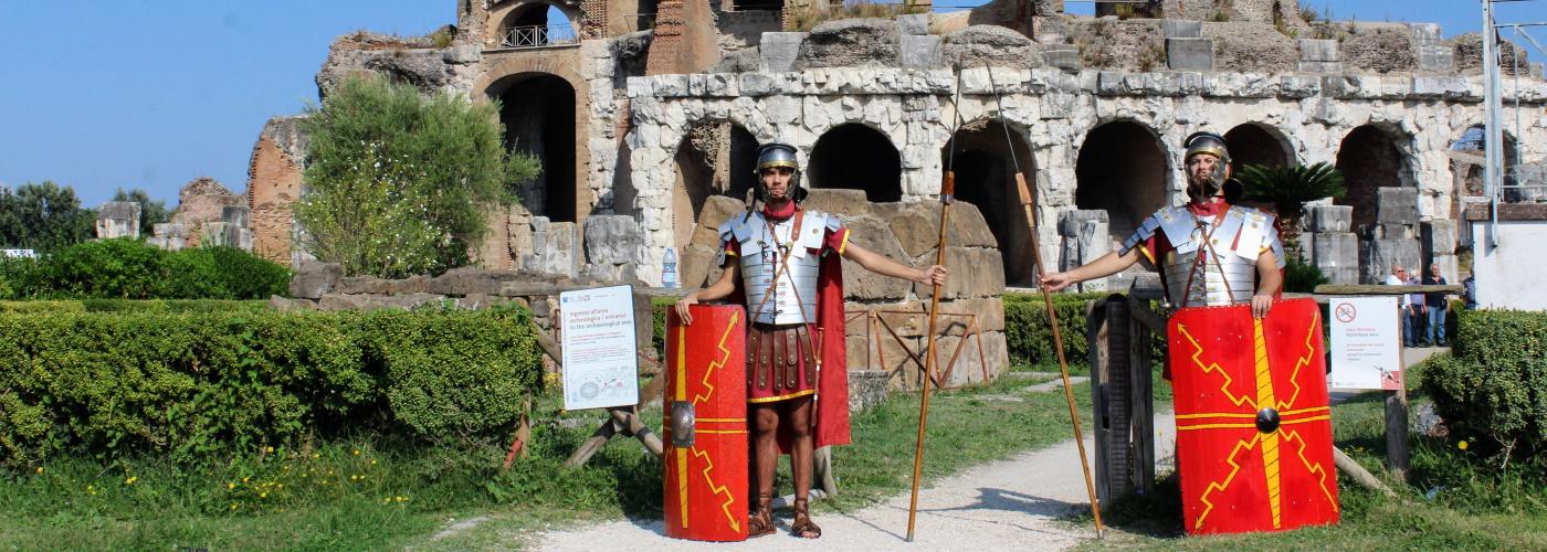 Anfiteatro campano di Santa Maria Capua Vetere, una giornata storica! [FOTO+VIDEO]
